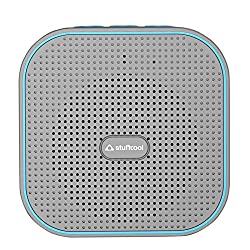Stuffcool Monk Portable Bluetooth Speaker - Grey / Blue