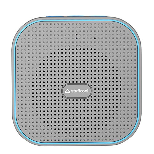 Stuffcool Monk Portable Bluetooth Speaker - Grey / Blue