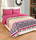 #10: bedsheets by Astra double bedsheets cotton bedsheets with pillow cover combo bedsheets plain double king size bedsheet in 70% discount  5d bedsheets  with 2 pillow covers