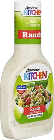 American Kitchen Ranch Salad Dressing, 237 ml