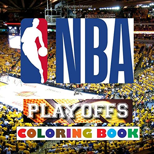 NBA Playoffs Coloring Book: Super book containing every team logo from the NBA for you to color in - Original birthday present / gift idea.