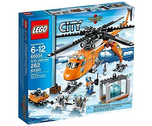 LEGO City - 60034 - Jeu De Construction - L'hélicoptère Arctique