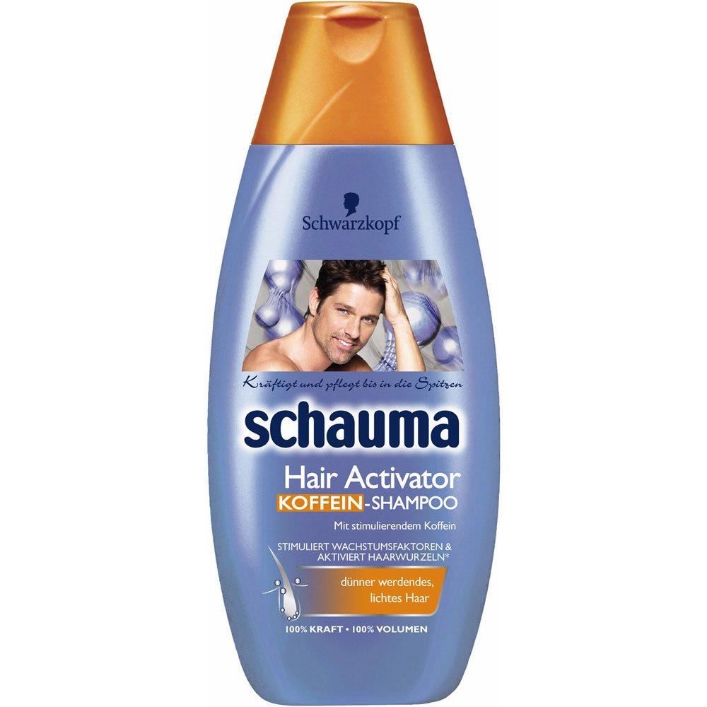 schauma hair activator coffein shampoo 1er pack 1 x 400 ml