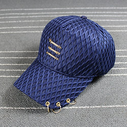 upper-filet-respirant-cap-hat-ring-metal-printemps-et-ete-ombrageajustableblue