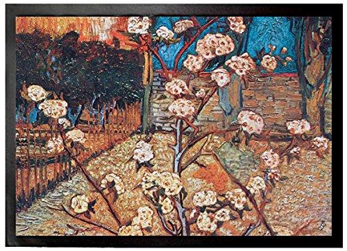 Vincent Van Gogh - Arbol De Pera En Flor, 1888, Detalle Felpudo Alfomb