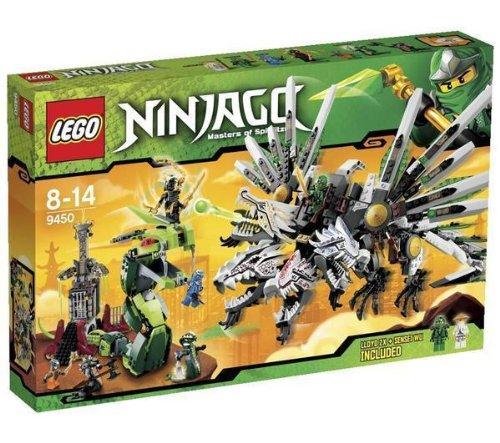 LEGO Ninjago - Battle Dragons - 9450 Ninjago - Bite Ciclo di Lasha - 9447