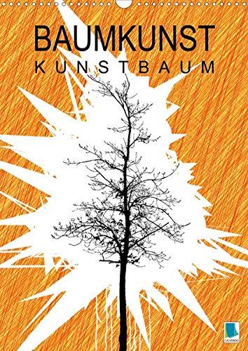 Baumkunst: Kunstbaum (Wandkalender 2020 DIN A3 hoch): Illustrierte Bäume auf ihre Silhouette reduziert (Monatskalender, 14 Seiten ) (CALVENDO Kunst)