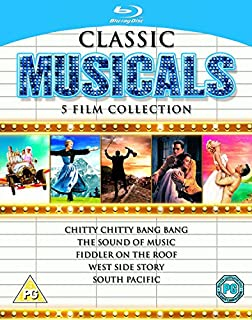Classic Musicals - 5 Film Collection [Blu-ray] [1958] [Region Free] (B0093W053I) | Amazon price tracker / tracking, Amazon price history charts, Amazon price watches, Amazon price drop alerts