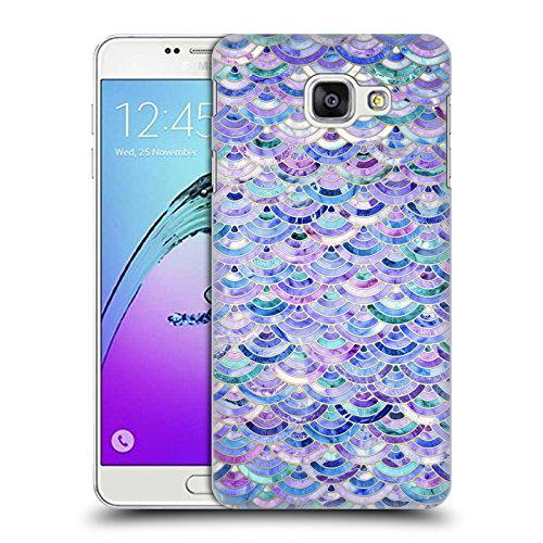 Offizielle Micklyn Le Feuvre Mosaik Und Amethyst Und Lapislazuli Marmor Muster Ruckseite Hülle für Samsung Galaxy A7 (2017)