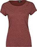 Ragwear Damen T-Shirt Mint Dots 1821-10002 Rot Red 400, Größe:M