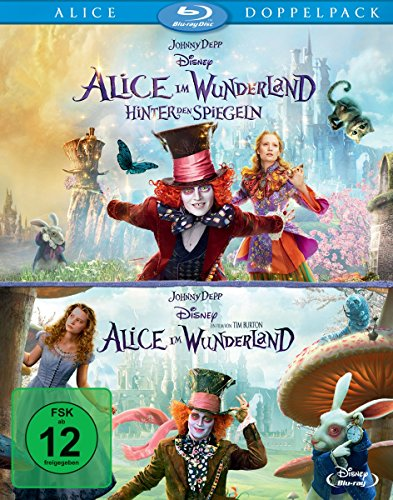 Alice im Wunderland 1+2 [Blu-ray] (Walt Disney Box-set)