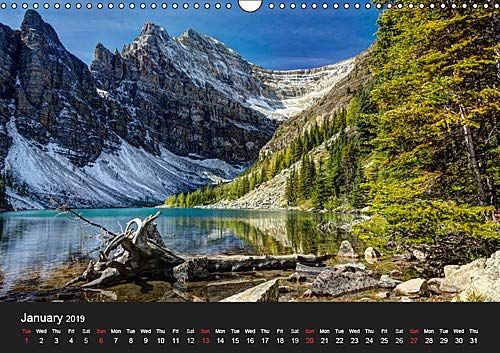 Western Canada (Wall Calendar 2019 DIN A3 Landscape): Fascinating photos of the awesome landscapes in the western part of Canada (Monthly calendar, 14 pages ) (Calvendo Nature)