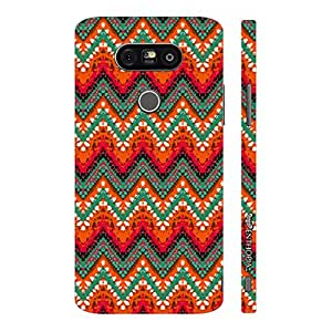 Enthopia Designer Hardshell Case Fire Zag Back Cover for LG G5