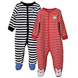 Baby-Jungen Schlafstrampler-6 Monate,2er Pack,von Future Founder