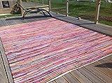 Gorgeous Second Nature Umweltfreundlich Mehrfarbig Chindi Flickenteppich–Über 20Größen INC Läufer und quadratisch, baumwolle, Multi Colours, 250cm x 250cm