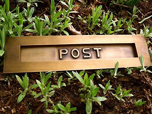 Antikas - bocacartas de latón - bocacartas para la puerta de la casa puerta de madera