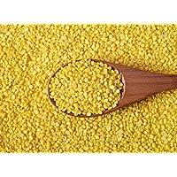 Nobility Unpolished Yellow Lentils - Indian Split Moong Dal - Lentejas naturales puras y sanas - Single Origin pulses - Weight : 1 Kg