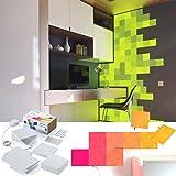 nanoleaf Canvas 25er Set inkl. Sound-Modul & Touch-Steuerung, 16 Millionen Farben | Alexa/Echo, Apple HomeKit & google assistant kompatibel, Plug & Play, iOS & Android App, LED-Square