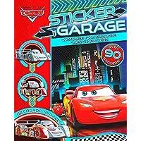 Disney Pixar Cars: Sticker Garage Paperback Book and 100+ stickers