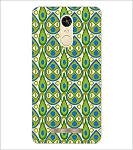 PrintDhaba Pattern D-5407 Back Case Cover for XIAOMI REDMI NOTE 3 MEDIATEK (Multi-Coloured)