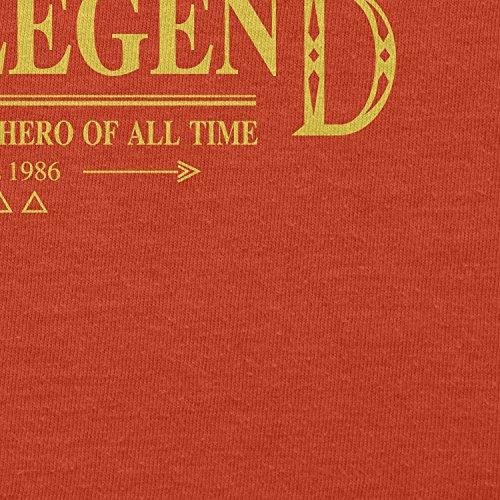 TEXLAB - The Legend - Herren T-Shirt Orange