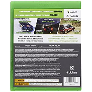 Ubisoft Sw XB1 85152 WRC 5 ESport Edition