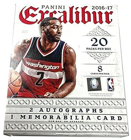 2016/17 Panini Excalibur Basketball Hobby Box NBA
