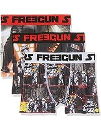Star Wars Jungen Boxershorts Freegun, 3er Pack