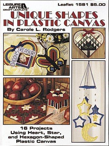 Unique Shapes in Plastic Canvas (Leisure Arts Craft Leaflets) (Leaflet Kreuzstich)