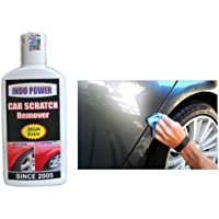 INDOPOWER CAR Scratch Remover 100gm.All Colour Car & Bike Scratch Remover, Advanced Formula Rubbing Compound (Not for Dent & Deep Scratches)