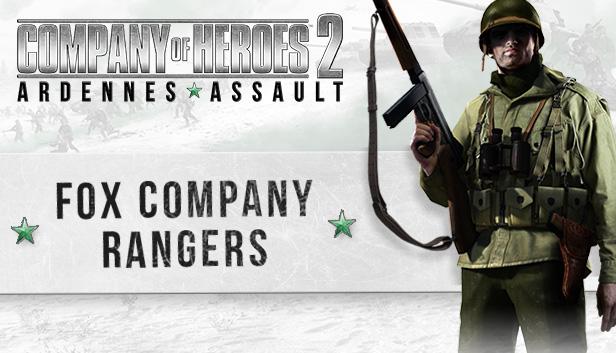 Company of Heroes 2 - Ardennes Assault: Fox Company Rangers [Code Jeu PC - Steam]