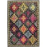 Alfombra salon sala de estar Carpet moderno Design COLORES VINTAGE RUG 100% Heatset Polypropylen 200x300 cm Rectangular Mehrfarbig   Alfombras barata online comprar