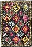 Asiatic Teppich Wohnzimmer Carpet Modernes Design Colores Vintage Rug 100% Heatset Polypropylen 200x300 cm Rechteckig Mehrfarbig | Teppiche günstig Online kaufen