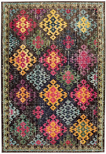 Alfombra salon sala de estar Carpet moderno Design COLORES VINTAGE RUG