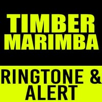 Timber - Pitbull Marimba Ringtone & Alert