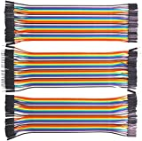 Dupont Jumper Cables Wires(3 in 1, M/M F/M F/F), 3×40P 20cm Ribbon Kit Wires for PIC/Arduino Raspberry Pi