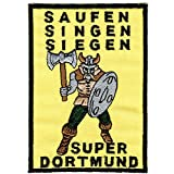 AUFNÄHER - Dortmund - 03285 - Gr. ca. 7,5 x 11 cm - Patches Stick Applikation