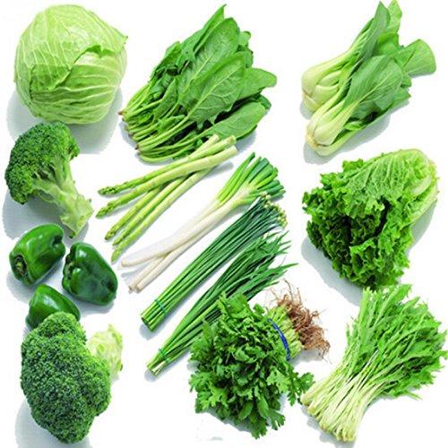 Mixed 50 Samen / bag Balkon Gemüsesaatgut Aussaat Jahreszeiten Versandverpackungen geschickt Hofgarten