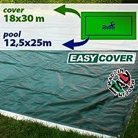 Telo di copertura invernale per piscina 12,50 X 25 mt