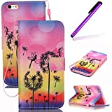 iPhone 4S Coque Antichoc,Cute Coque Pour iPhone 4S,iPhone 4 Coque en Cuir Folio Flip...
