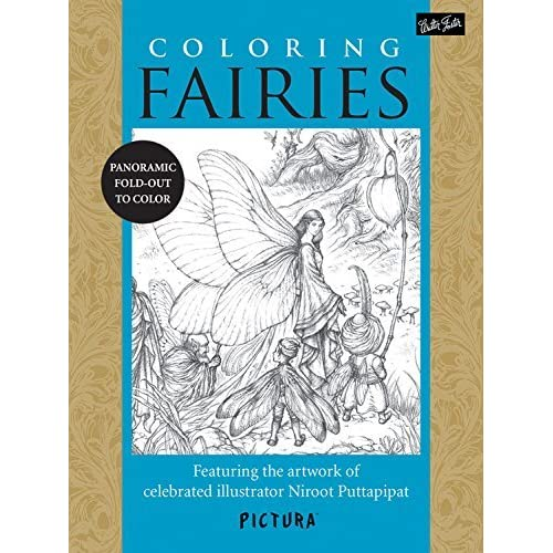 Coloring Fairies: Featuring the artwork of celebrated illustrator Niroot Puttapipat (PicturaTM) by Niroot Puttapipat (2014-02-01)