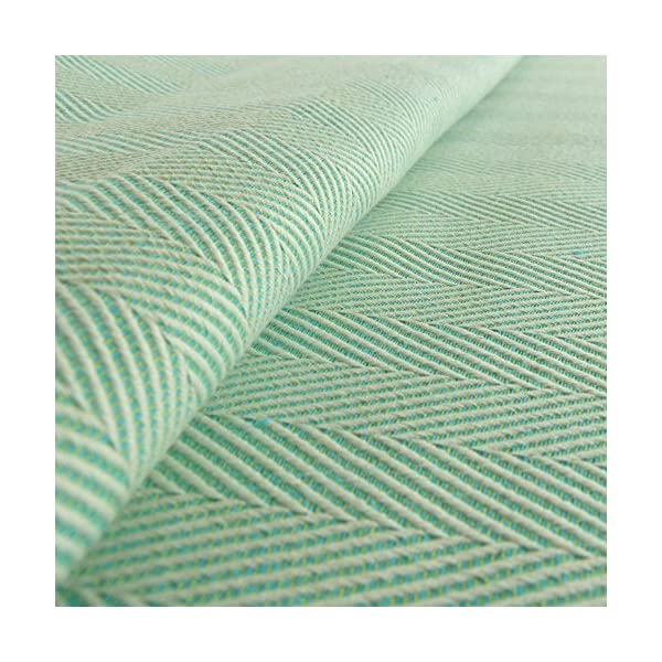 Didymos Woven Baby Wrap, Lisca Karibik, Size 6, 470 cm, Green Didymos Various carrying positions, in front, sideways an on the back Special, diagonally stretchable cloth to give optimal support Holds your baby in the anatomically correct posture 2