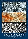 Erdfarben - Kunstvolle Formen aus Stein und Sand (Tischkalender 2019 DIN A5 hoch): Natürliche und künstliche Texturen (Monatskalender, 14 Seiten ) (CALVENDO Natur)