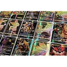 Pokemon TCG Card- Contains 26 Pcs Sun & Moon GX Card / 34 Pcs EX Mega Card (1-Box 60 Pcs)