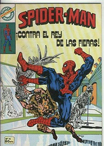 Comics Bruguera: Spiderman numero 15 (numerado 1 en trasera)