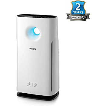 Philips 3000 Series AC3256/20 60-Watt AeraSense Air Purifier (White)