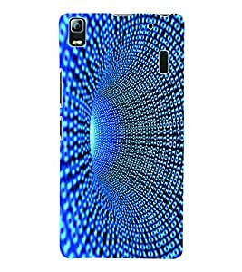 Fuson 3D Printed Pattern Designer Back Case Cover for Lenovo A7000 - D999