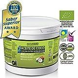Aceite de Coco Orgánico Virgen Extra 4 L , Naturseed, GRATIS Ebook. Extracción en frío, fuente de energía natural, para deportistas, pérdida de peso, suplemento alimenticio, para cocinar, como crema hidratante para ti y tu bebe, para el pelo, para los dientes, también para tu perro y gato.