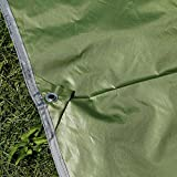 Best Survival Shelter - ELECTROPRIME Waterproof Tarp Shelter Survival Backpacking Camping Tent Review