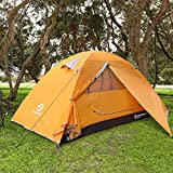 Bessport Camping Tent for Lightweight Backpacking Tents Waterproof Two Doors Easy Setup 4